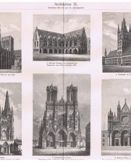 Gothic Architecture 13th 14th Century