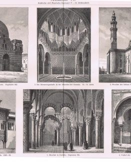 Arabic and Moorish Architecture of the 7th to 14th Century