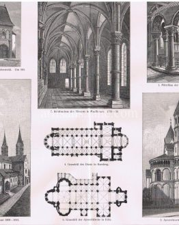 Roman Architecture of 9th to 13th century