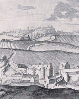 Old City of Edinburgh from Dean Village in 1693