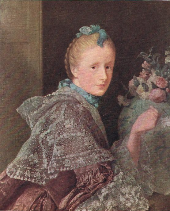 The Painter's Wife by Allan Ramsay