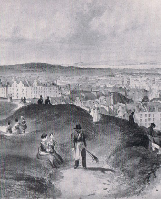 View North from The Calton Hill