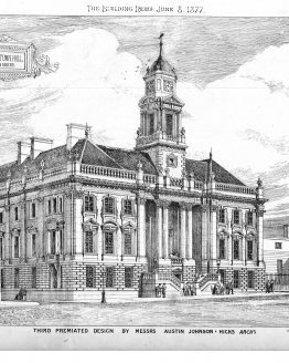 Architectural Design for Wakefield Town Hall