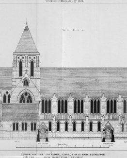 Design for the Cathedral Church of St Mary in Edinburgh