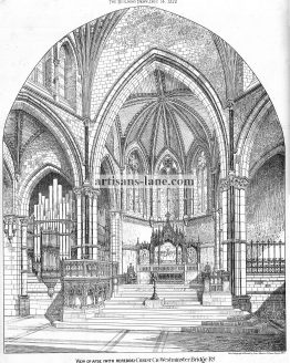 Christ Church Westminster Bridge Road Apse with Refredos