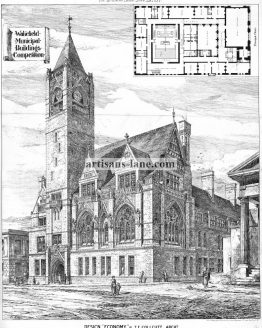 Wakefield Municipal Buildings 1877 Architectural Design