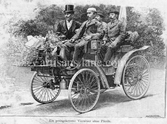 Horseless Carriage Four Seater German Automobile award winner
