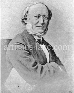 Moritz Carriere German philosopher and historian illustrated image