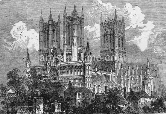 Lincoln Cathedral,Church of the Blessed Virgin Mary of Lincoln