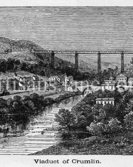 Crumlin Viaduct railway viaduct located above the village of Crumlin in South Wales