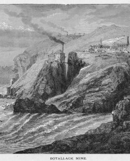 Botallack Mine is a former mine in Botallack in the west of Cornwall