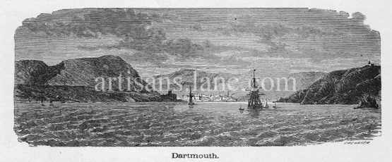 Dartmouth town and civil parish in the English county of Devon