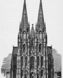 Cologne Cathedral,Roman Catholic cathedral in Cologne, Germany