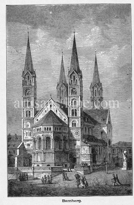 Bamberg Cathedral,Bamberger Dom St. Peter und St. Georg