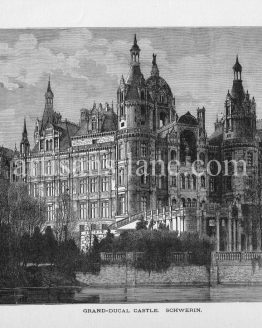 Schwerin Castle palatial schloss located in the city of Schwerin