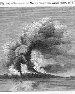 ERUPTION OF MOUNT VESUVIUS