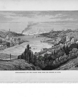Constantinople and the golden horn
