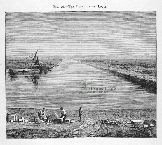 The Canal of St. Louis
